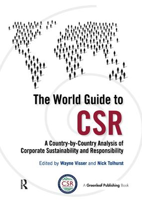 The World Guide to CSR: A Country-by-Country Analysis of Corporate Sustainability and Responsibility book cover