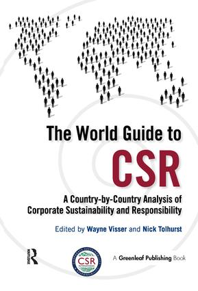 The World Guide to CSR: A Country-by-Country Analysis of Corporate Sustainability and Responsibility (Paperback) book cover
