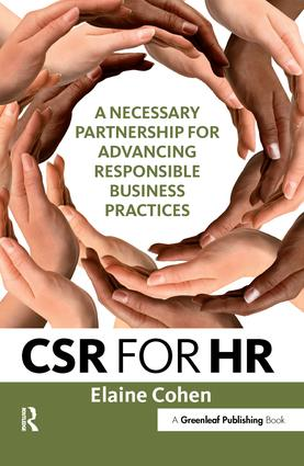 CSR for HR: A Necessary Partnership for Advancing Responsible Business Practices, 1st Edition (Hardback) book cover