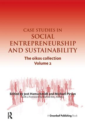 Case Studies in Social Entrepreneurship and Sustainability: The oikos collection Vol. 2 book cover