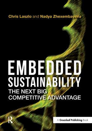 Embedded Sustainability: The Next Big Competitive Advantage book cover
