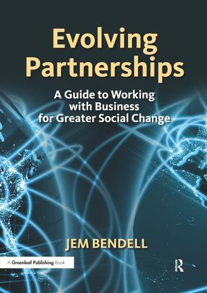 Evolving Partnerships: A Guide to Working with Business for Greater Social Change book cover