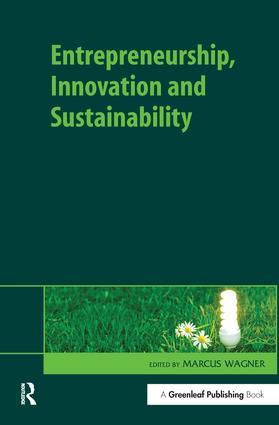 Entrepreneurship, Innovation and Sustainability: 1st Edition (Hardback) book cover
