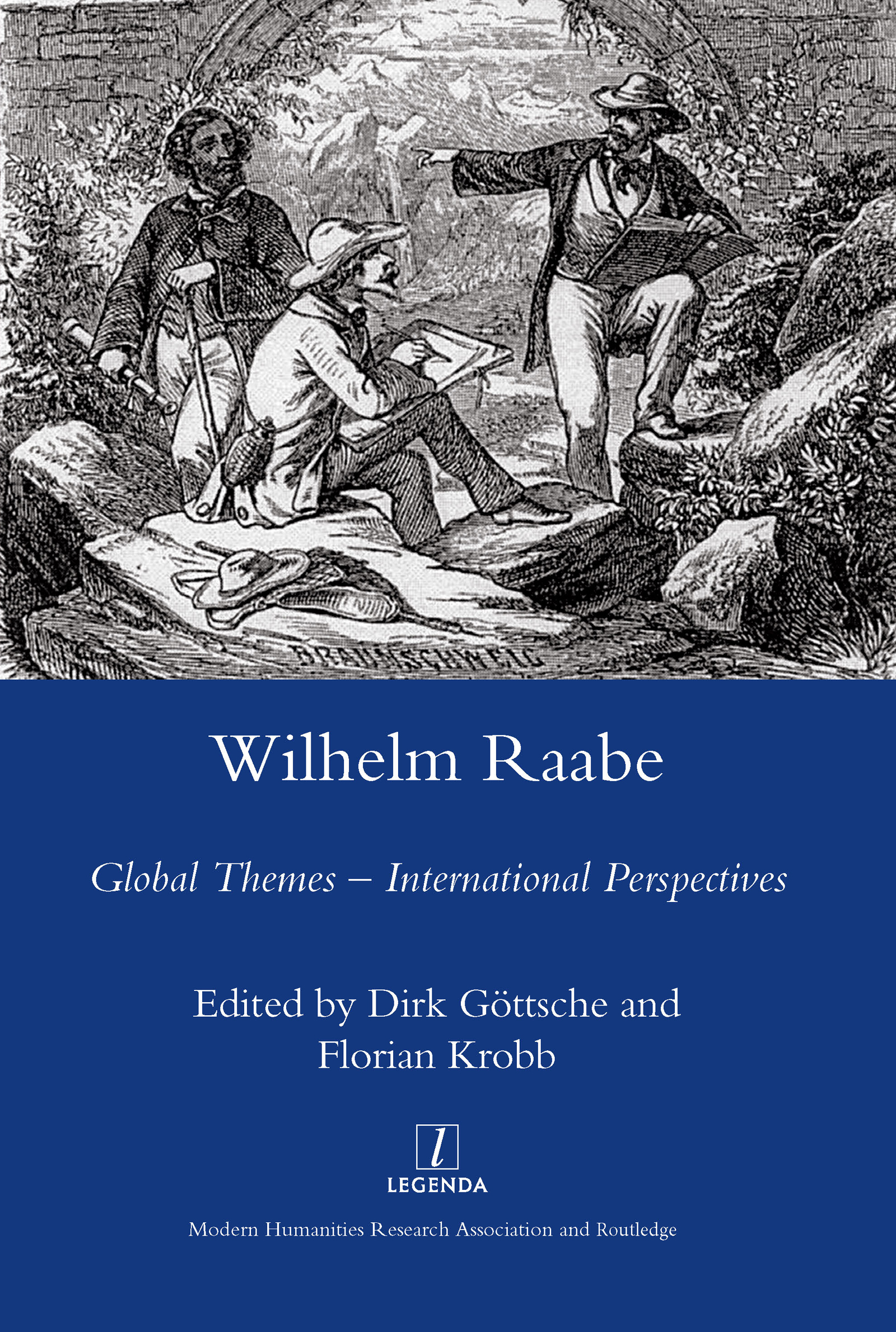 Wilhelm Raabe: Global Themes - International Perspectives, 1st Edition (Hardback) book cover