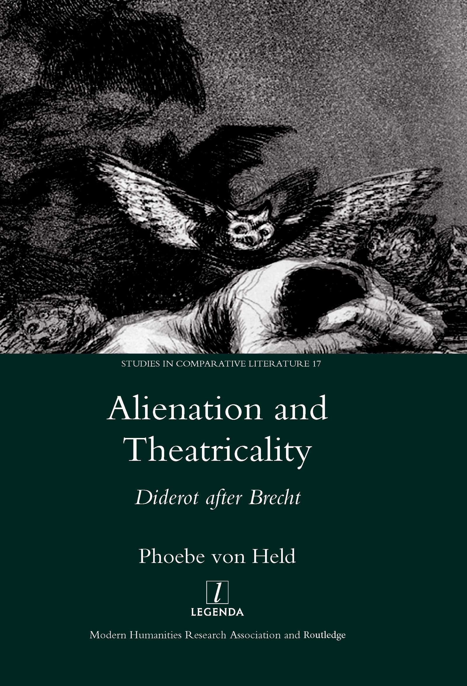 Alienation and Theatricality: Diderot After Brecht, 1st Edition (Hardback) book cover