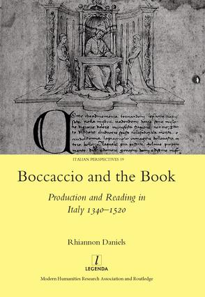 Boccaccio and the Book: Production and Reading in Italy 1340-1520, 1st Edition (Hardback) book cover