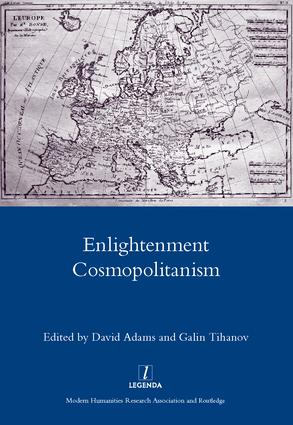 Enlightenment Cosmopolitanism: 1st Edition (Hardback) book cover