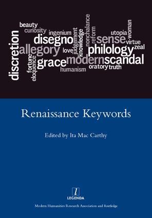 Renaissance Keywords: 1st Edition (Hardback) book cover