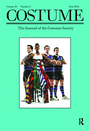 Costume: A Volume for the London Olympics, 1st Edition (Paperback) book cover
