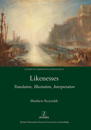 Likenesses: Translation, Illustration, Interpretation, 1st Edition (Hardback) book cover