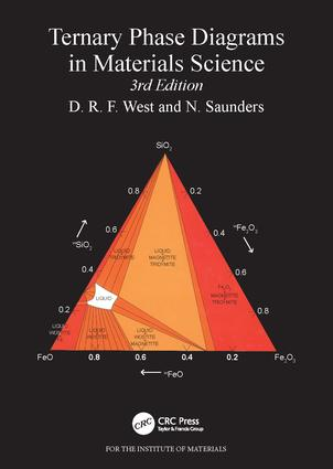 Ternary Phase Diagrams in Materials Science: 3rd Edition (Paperback) book cover