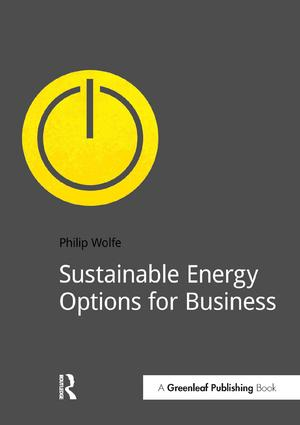 Sustainable Energy Options for Business: 1st Edition (Paperback) book cover