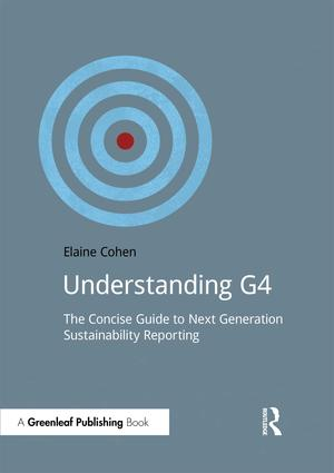 Understanding G4: The Concise Guide to Next Generation Sustainability Reporting, 1st Edition (Paperback) book cover