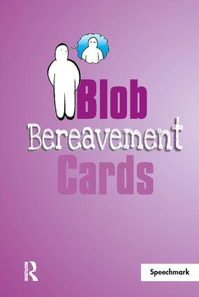 Blob Bereavement Cards book cover
