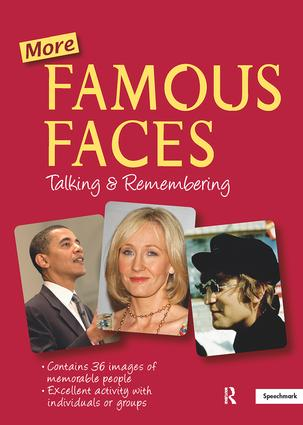More Famous Faces: 1st Edition (Flashcards) book cover