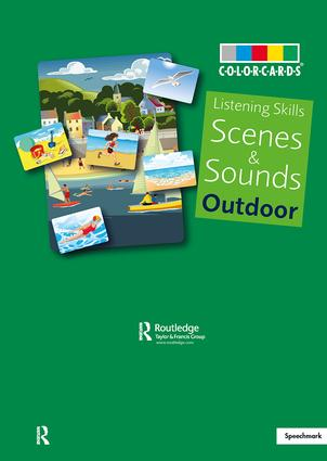 Listening Skills Social Scenes: 1st Edition (Flashcards) book cover