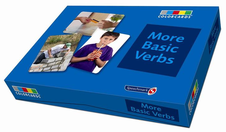 More Basic Verbs: Colorcards: 1st Edition (Flashcards) book cover