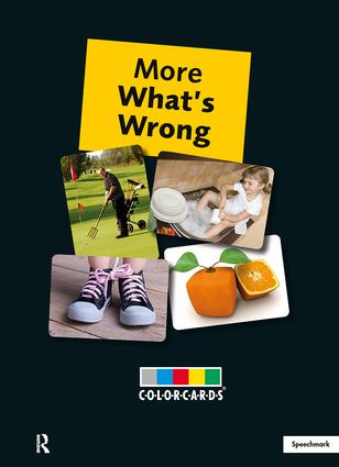 More What's Wrong: Colorcards: 1st Edition (Flashcards) book cover