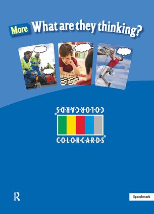 More What are They Thinking: Colorcards: 1st Edition (Flashcards) book cover