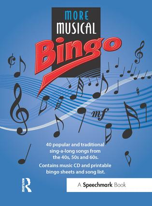 More Musical Bingo: 1st Edition (Audio CD) book cover
