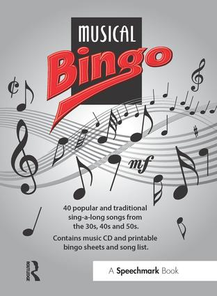 Musical Bingo: 1st Edition (Audio CD) book cover