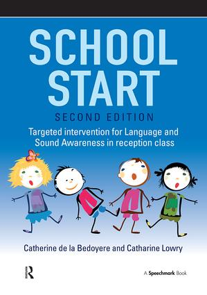 School Start: Targeted Intervention for Language and Sound Awareness in Reception Class book cover