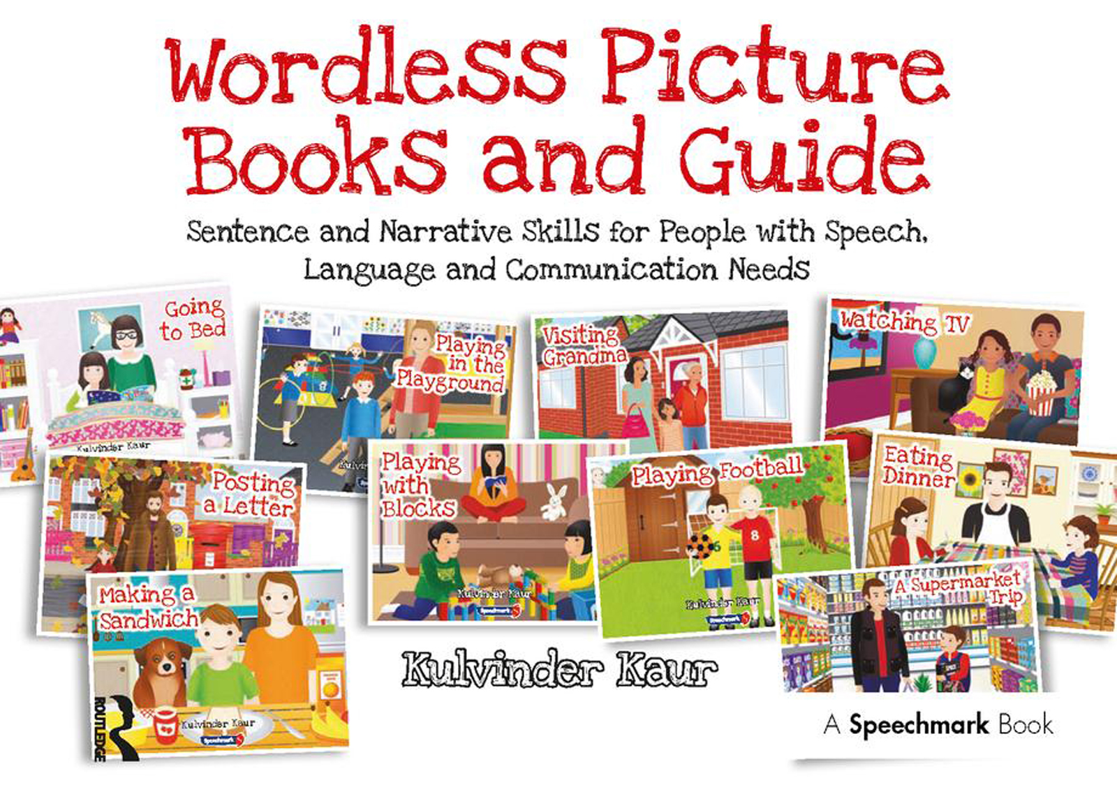 Wordless Picture Books and Guide: Sentence and Narrative Skills for People with Speech, Language and Communication Needs, 1st Edition (Paperback) book cover