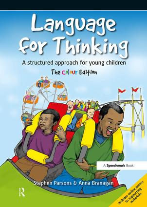 Language for Thinking: A structured approach for young children: The Colour Edition, 2nd Edition (Paperback) book cover