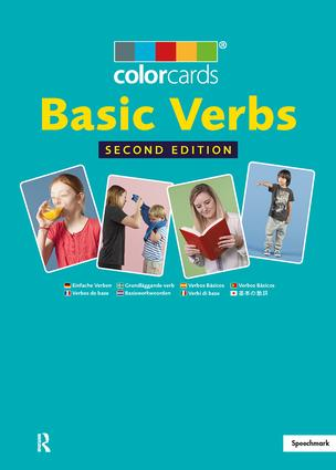 Basic Verbs: Colorcards: 2nd Edition, 2nd Edition (Flashcards) book cover