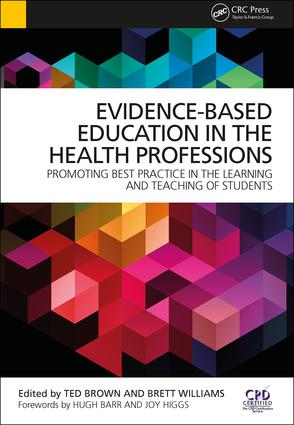 Evidence-Based Education in the Health Professions (Paperback) book cover