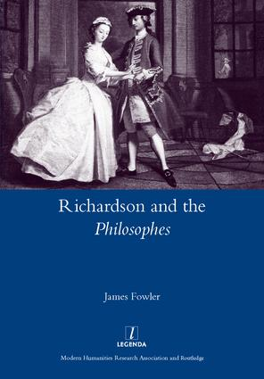 Richardson and the Philosophes: 1st Edition (Hardback) book cover