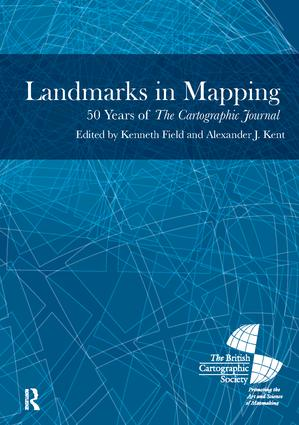 Landmarks in Mapping: 50 Years of the Cartographic Journal book cover
