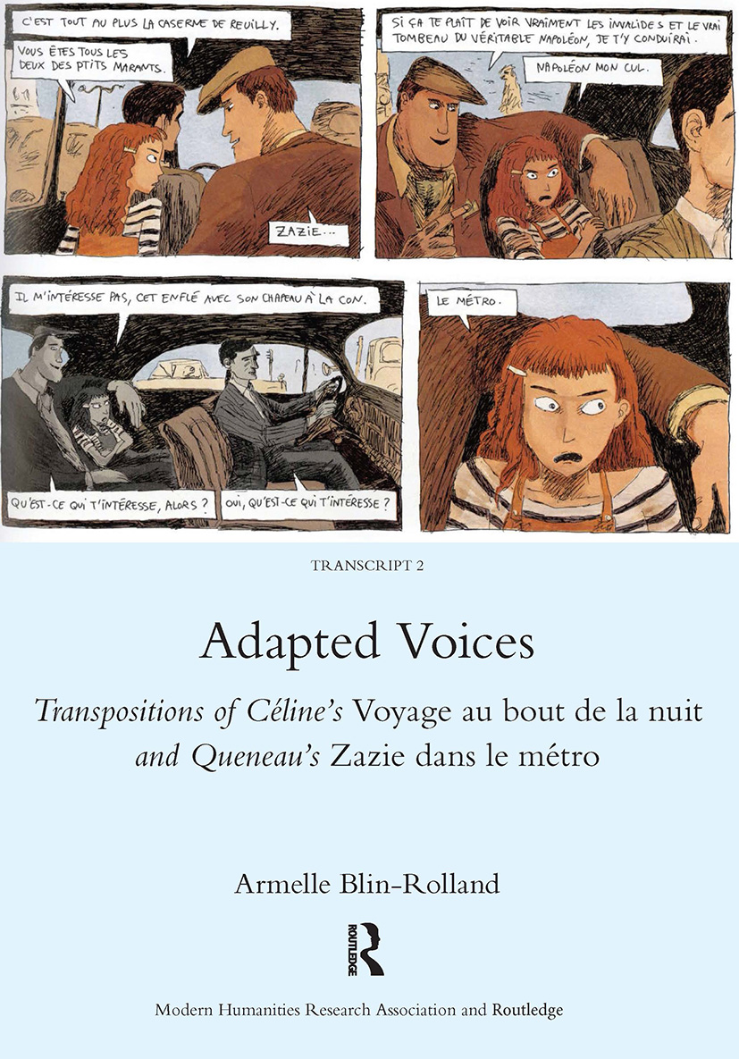 Adapted Voices: 1st Edition (Hardback) book cover