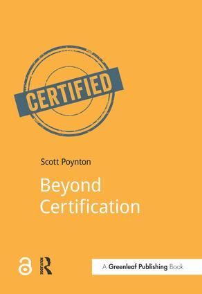 Beyond Certification: 1st Edition (Paperback) book cover