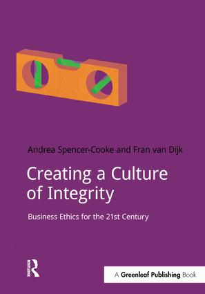 Creating a Culture of Integrity: Business Ethics for the 21st Century, 1st Edition (Paperback) book cover