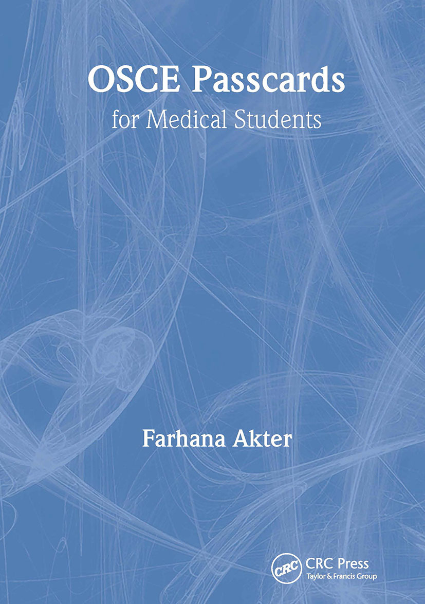 OSCE PASSCARDS for Medical Students: 1st Edition (e-Book) book cover