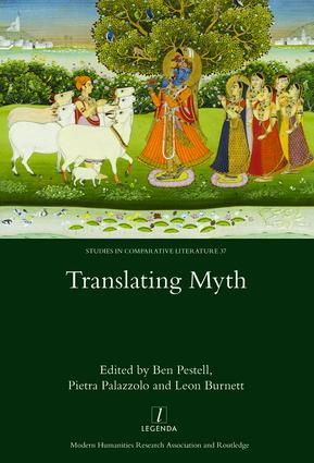 Translating Myth: 1st Edition (Hardback) book cover