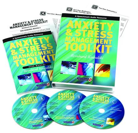 Anxiety & Stress Management Toolkit: User Manual, 1st Edition (CD-ROM) book cover