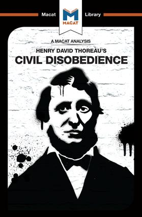 An Analysis of Henry David Thoraeu's Civil Disobedience: 1st Edition (Paperback) book cover