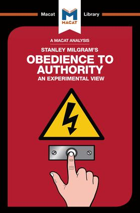 Obedience to Authority: 1st Edition (Paperback) book cover