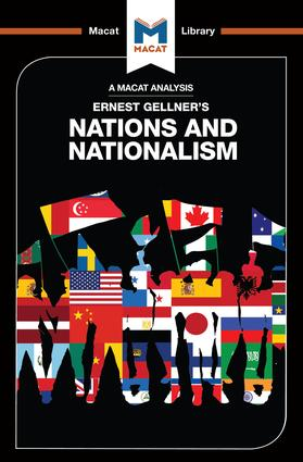 An Analysis of Ernest Gellner's Nations and Nationalism: 1st Edition (Paperback) book cover
