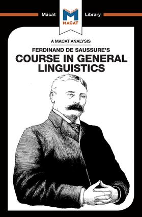 An Analysis of Ferdinand de Saussure's Course in General Linguistics: 1st Edition (Paperback) book cover