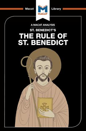 An Analysis of St. Benedict's The Rule of St. Benedict: 1st Edition (Hardback) book cover
