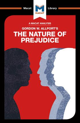 An Analysis of Gordon W. Allport's The Nature of Prejudice: 1st Edition (Paperback) book cover