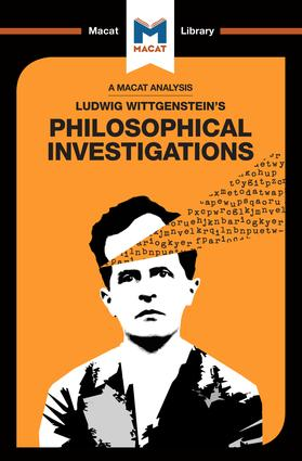 An Analysis of Ludwig Wittgenstein's Philosophical Investigations: 1st Edition (Paperback) book cover