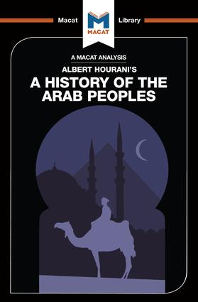 An Analysis of Albert Hourani's A History of the Arab Peoples: 1st Edition (Paperback) book cover