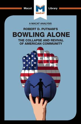 Bowling Alone: 1st Edition (Paperback) book cover