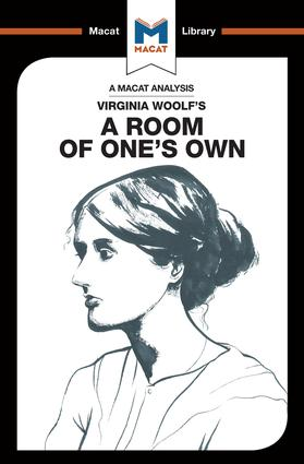 An Analysis of Virginia Woolf's A Room of One's Own: 1st Edition (Paperback) book cover