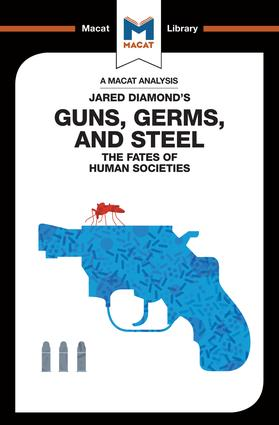 Guns, Germs & Steel: The Fate of Human Societies, 1st Edition (Paperback) book cover