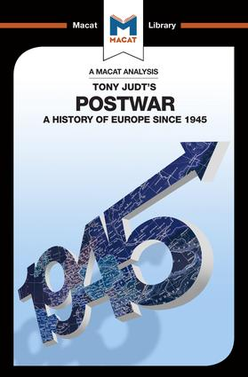 Postwar: A History of Europe Since 1945, 1st Edition (Paperback) book cover